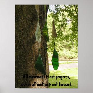Not Progress Poster