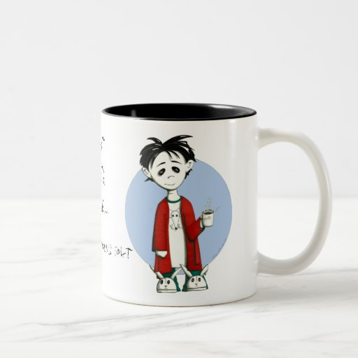 Not  Quite Alive... Two-Tone Coffee Mug