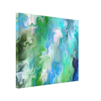 Not real Water an Abstract Canvas Print