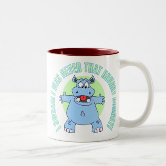 Not Really All That Hungry Two-Tone Coffee Mug