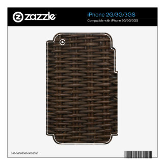 Not Really Wicker Skin For The iPhone 3GS
