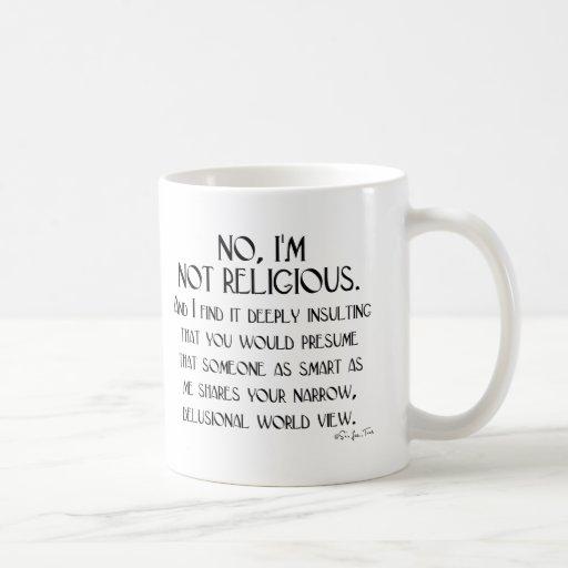 Not Religious Classic White Coffee Mug