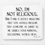 Not Religious Mouse Pads