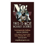 NOT Rocket Science Business Card