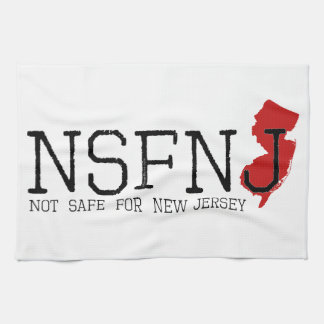 Not Safe for New Jersey Kitchen Towel