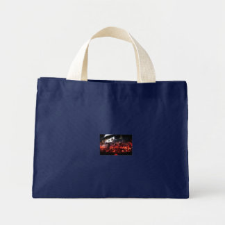 Not scarey .) mini tote bag