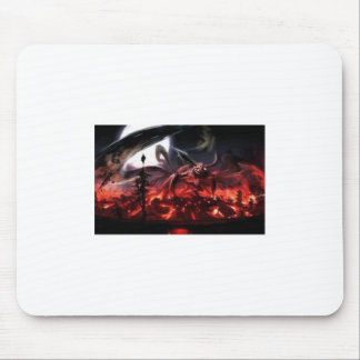 Not scarey .) mouse pad