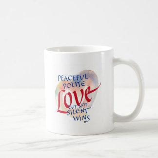 Not Silent Gentle Coffee Mug