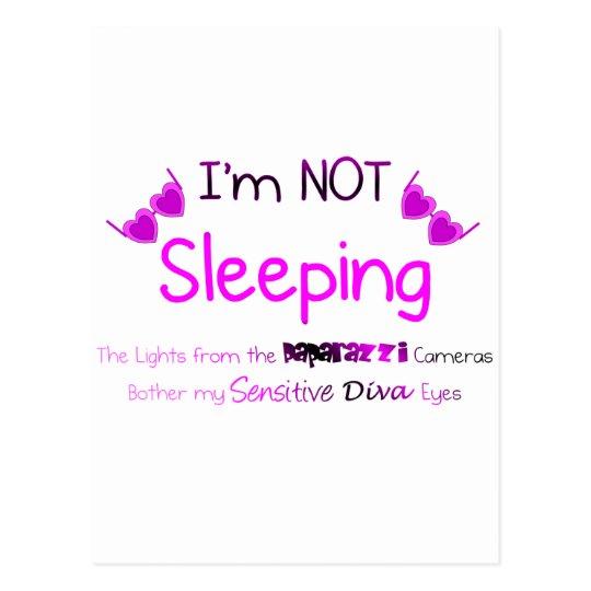 Not Sleeping Postcard