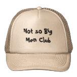 Not so Big Men Club Hats Caps Sports Team Mesh Hat