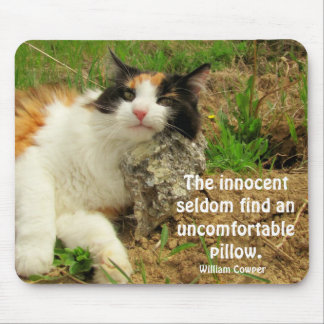 Not so innocent? mouse pad