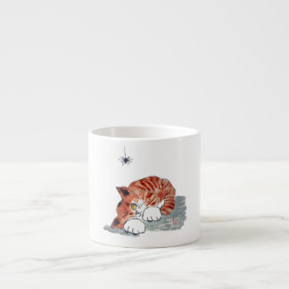 Not So Itsy Bitsy Spider and  Kitty Espresso Cup