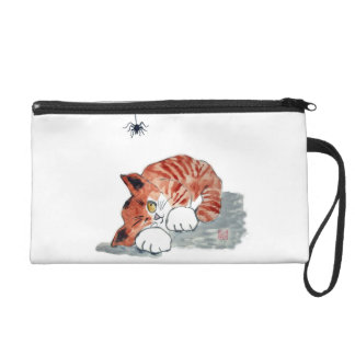 Not So Itsy Bitsy Spider and  Kitty Wristlet Purse
