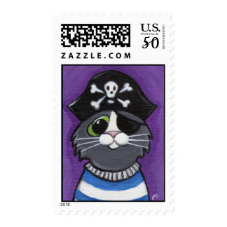 Not So Jolly Roger Postage