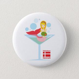 not so little mermaid button