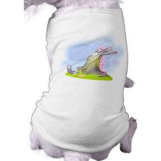 not so noob computer monster doggie shirt