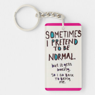 Not so normal keychain