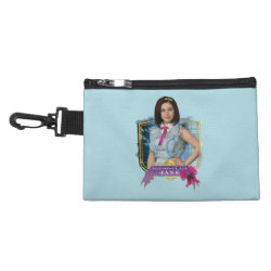 Clip On Accessory Bag with Descendants Not-So-Plain Jane design
