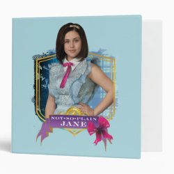 Avery Signature 1' Binder with Descendants Not-So-Plain Jane design