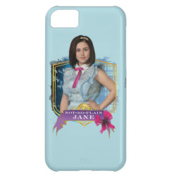 Case-Mate Barely There iPhone 5C Case with Descendants Not-So-Plain Jane design
