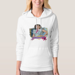 Women's American Apparel California Fleece Pullover Hoodie with Descendants Not-So-Plain Jane design