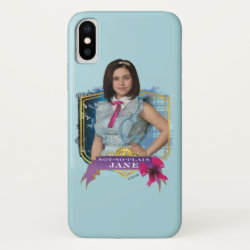 Case-Mate Barely There iPhone X Case with Descendants Not-So-Plain Jane design
