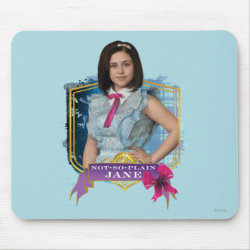Mousepad with Descendants Not-So-Plain Jane design