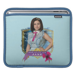 iPad Sleeve with Descendants Not-So-Plain Jane design