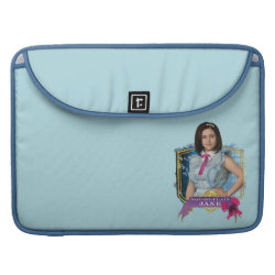 Macbook Pro 15' Flap Sleeve with Descendants Not-So-Plain Jane design