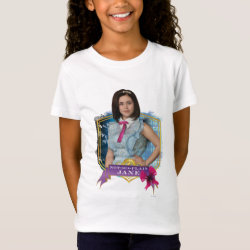 Girls' Fine Jersey T-Shirt with Descendants Not-So-Plain Jane design