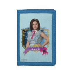 TriFold Nylon Wallet with Descendants Not-So-Plain Jane design