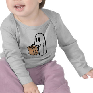 Not So Spooky Halloween Ghost Trick or Treater Shirt