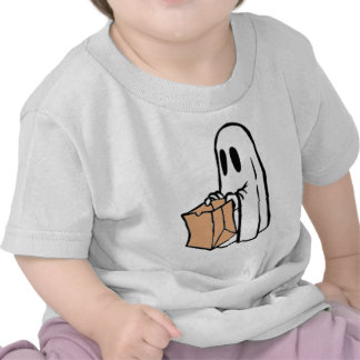 Not So Spooky Halloween Ghost Trick or Treater Shirts