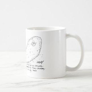 Not-So-Sweet-Potatoes Cartoon Mug. Classic White Coffee Mug
