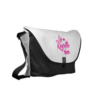 Not sorry about anything - Je ne Regrette Rien Courier Bag
