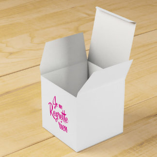 Not sorry about anything - Je ne Regrette Rien Favor Box