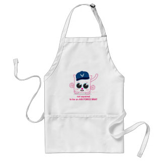 Not Squared to be an Air Force Brat Adult Apron