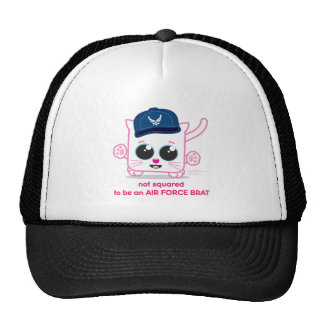 Not Squared to be an Air Force Brat Mesh Hat