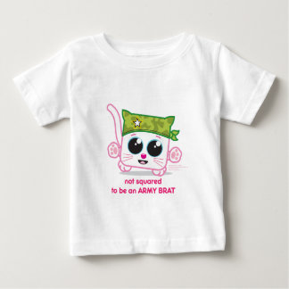 Not Squared to be an Army Brat Baby T-Shirt