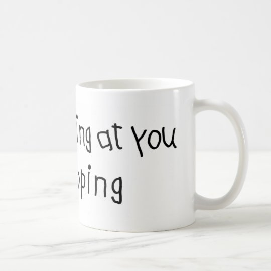Not Staring I'm Pooping Coffee Mug