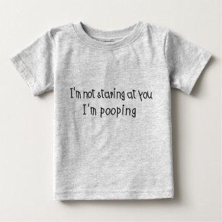 Not Staring I'm Pooping Shirt