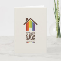 Not Straight Design 'A New Home' Card