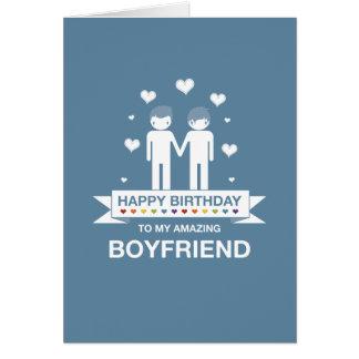 happy birthday boyfriend greeting cards  zazzle, Birthday card
