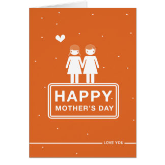 Not Straight Design 'Mother's Day' Card