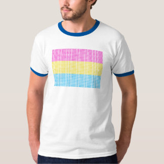 """Not Straight"" Pan Flag T-Shirt"