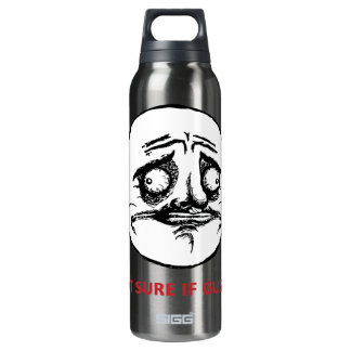 Not Sure If Gusta - Bottle 16 Oz Insulated SIGG Thermos Water Bottle