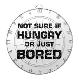 Not Sure If Hungry or Bored Dartboard