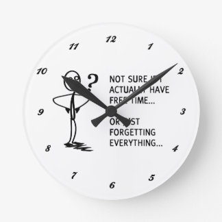 Not sure if I actually have free time… Round Clock