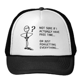 Not sure if I actually have free time… Trucker Hat
