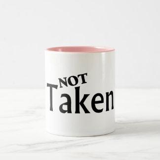 Not Taken Black Mugs